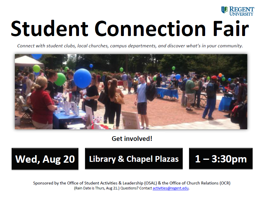 Student Connection Fair - Get Involved!