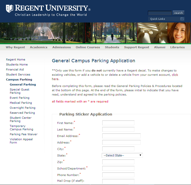 Parking Application